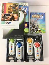 Scene It Lights, Camera, Action Movie Trivia Game (Microsoft Xbox 360, 2007) NOP