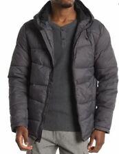 Spyder Men's Nexus Puffer ThermaWEB Hooded Jacket M 71H66022-09 Gray EUC $199