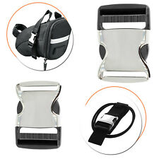 25/30mm Metal/Plastic Buckle Webbing Strap Bag Fastener Side Release Clasp Clip