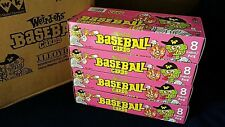 2007 Weird-Oh's Baseball Cards Boxes Fresh From Sealed Case ~ 4 Box Lot