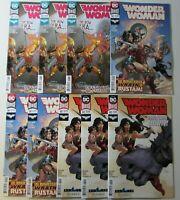 WONDER WOMAN 53 x 3 #54 x 3  #60 x3 NM Nine DC COMICS Lot