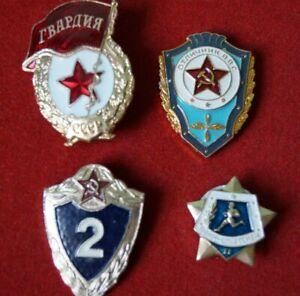 Konvolut Abzeichen 4-set Garde Gardestern 2.Klasse Soldat UdSSR USSR orden Armee