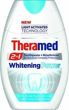 TOOTHPASTE & MOUTHWASH THERAMED 2 IN 1 WHITENING power TEETH  75ML