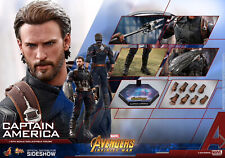 HOT TOYS MARVEL AVENGERS INFINITY WAR CAPTAIN AMERICA 1:6 FIGURE ~In Sealed Box~