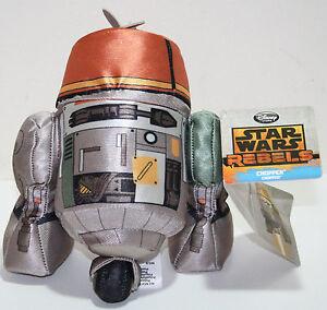 Genuine Disney Store Star Wars Rebels 20 cm Chopper Soft Plush Toy Gift Boys