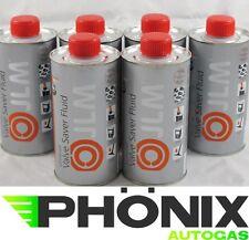 6x500ml JLM Ventilschutz 0,5L Nachfüllflasche  Autogas LPG Valve Saver Fluid