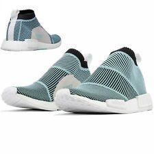 adidas adidas NMD_CS1 Parley Primeknit Schuhe für Herren - Core Black/Core Black/Blue Spirit, EU 43 1/3 (AC8597)