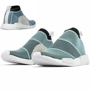 adidas NMD CS1 Parley PK Primeknit Sneaker AC8597 Blue / Core Black /Blue Spirit