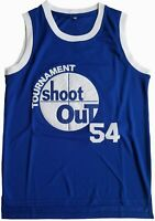 Mens Tournament Shoot Out #54 Watson Basketball Jersey Blue S-XXXL