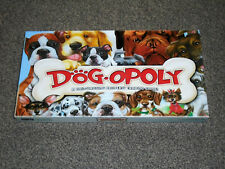 """DOG-OPOLY TRADING GAME : """"MONOPOLY"""" IN VGC (FREE UK P&P)"""