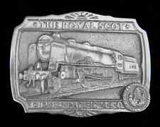 THE ROYAL SCOT I. M. S. PACIFIC 4-6-0 STEAM TRAIN BELT BUCKLE
