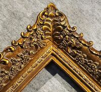 """4.75"""" Picture Frame antique Gold Ornate museum Oil Painting Wood 256G 24x36"""