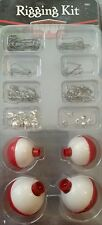 Rapala Rigging Kit Fishing Tackle Bobbers Split Shot Sinkers Hooks RRK-1 NEW