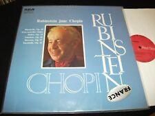 CHOPIN°<>RUBINSTEIN JOUE CHOPIN<>RARE LP Vinyl~France Pressing<>RCA ARL 1 0868