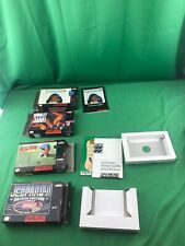 LOT OF 4 SUPER NINTENDO SNES BOX ONLY