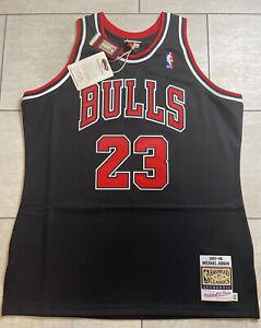 100% Authentic Michael Jordan Mitchell & Ness 97 98 Bulls Jersey Size 48 XL