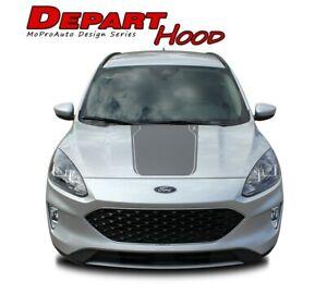 2020-2021 Ford Escape Hood Decals DEPART HOOD Vinyl Graphics 3M Body Stripes