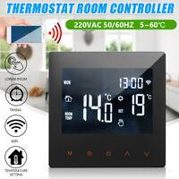 Programmable Thermostat Smart  LCD Digital  Temperature Remote Control WiFi --