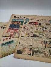 New listing Lot of 3 Sunday News Comics 1966 World Journal Tribune Price Valiant Dick Tracy