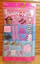 Barbie Fashion Avenue Accessories Set Mattel 2002 Age 3+ New/Unopened Shoes +