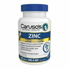 Caruso's 30mg Zinc Tablet - 120 Count