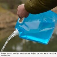 10L Drinking Water Bag Outdoor Foldable Water Bag Camp Cooking Picnic Portable