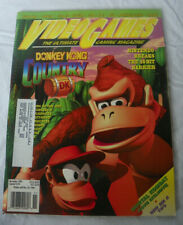 Nov. 1994 Video Games Gaming Magazine Donkey Kong Country Super NES Tips Codes +