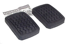 Datsun 520 521 620 Pickup Clutch Brake Pedal Pad Set, OEM NEW!
