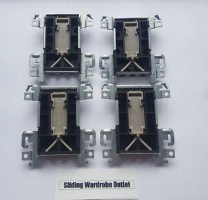 4 X TA C4-4 01-1603Y P2 Spacepro Stanley Acme Sliding Wardrobe Door Runner Guide