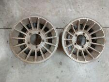 Vintage Western Wheels 15 X 7 Turbine Pair 5 On 5 12 Ford Truck Van Dodge