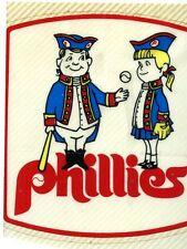Original 1976 PHILADELPHIA PHILLIES TEAM ISSUED  WINDOW   DECAL VINTAGE  VG