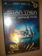 DVD STAR TREK DEEP SPACE NINE STAGIONE 3 TRE  EPISODI 17-20 DISCO 5 CINQUE NUOVO