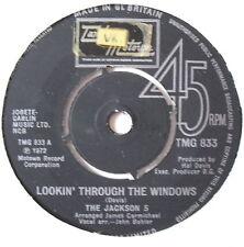 "JACKSON 5 - lookin' Through The Windows - Ex 7"" Single"