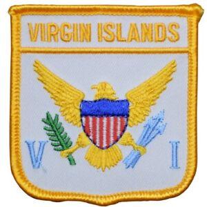 "United States Virgin Islands Patch - Caribbean Archipelago 2.75"" (Iron on)"