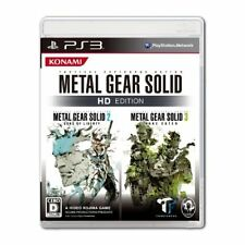 Used PS3 Metal Gear Solid HD Edition Japan import