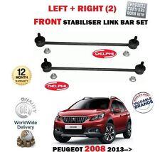 Para Peugeot 2008 1.2 1.4 1.6 HDI 2013- > 2X Delantero Juego de Barra