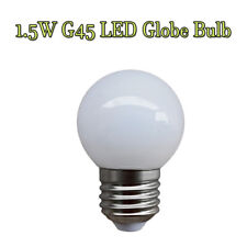 E27 Screw Cap LED 1.5W Warm white 2800k Globe G45 bulb
