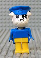 Légo x581c03 Fabuland Personnage Figure Chien Bulldog Facteur du 3793 & 3786