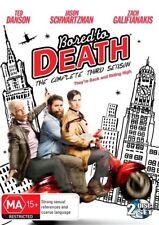 BORED TO DEATH -SEASON 3 (DVD, 2-DISC SET) REGION-4, NEW, FREE POST AUS-WIDE