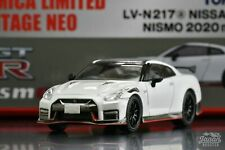 [TOMICA LIMITED VINTAGE NEO LV-N217a 1/64] NISSAN GT-R NISMO 2020 MODEL (White)