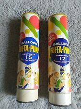 2 X VINTAGE PUFFA PUMP BALLOON PUMPS (NO BALLOONS)