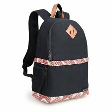 Women's Canvas DSLR Camera Case Bag Padded Insert Bag Backpack Daypack For Canon