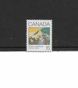 1980 CANADA - CHRISTMAS ISSUE - SINGLE - MINT AND NEVER HINGED.