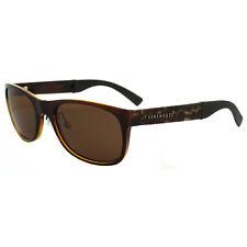 Serengeti gafas de Sol Piero 7635 brillante Bubble Carey drivers Marrón