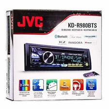 Jvc Kd-R980Bts 1-Din Car Stereo In-Dash Cd Mp3 Usb Receiver w/ Bluetooth