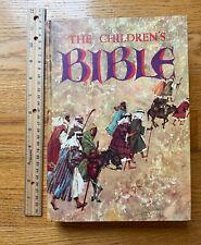 The Childrens Bible Vintage 1965 Golden Press Hardcover Illustrated Stories