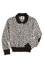 JUICY COUTURE GIRLS WILD CHEETAH JACQUARD PULLOVER ORG. $98.00 SIZE LARGE BNWT