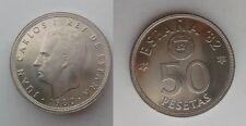 SPAIN KM#819 JUAN CARLOS I 50 PESETAS 1980 *80 SC UNC SIN CIRCULAR