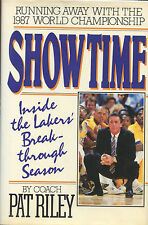 Showtime by Coach Pat Riley signed by Pat Riley - 1988 1st. Edition VG+/NF