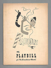 "Barbara Cook ""FLAHOOLEY"" Yma Sumac / Yip Harburg / Sammy Fain 1951 FLOP Playbill"